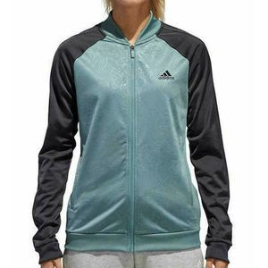 Adidas Track Jacket Large Womens Embossed Flora